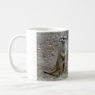 Meerkat Mug Blanc