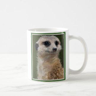 Meerkat sur le regard mug