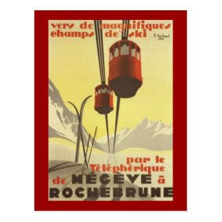 Mégève vintage, Rhône Alpes, France - Cartes Postales