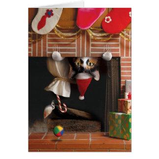 Meilleur adorable mignon drôle de carte de Noël de