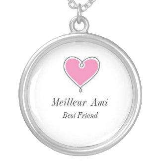 Meilleur ami : Collier de coeur d'ami de Meilleur