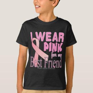 Meilleur ami de conscience de cancer du sein t-shirt