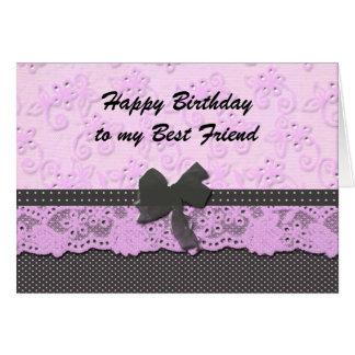 meilleur ami de joyeux anniversaire carte de vœux