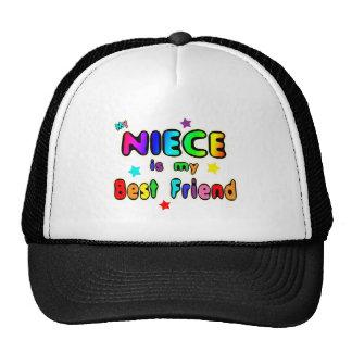 Meilleur ami de nièce casquette de camionneur