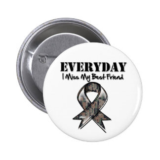 Meilleur ami - Mlle quotidienne My Hero Military d Badge Rond 5 Cm