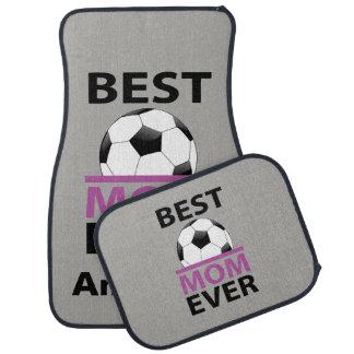 Meilleur ballon de football personnalisé de maman tapis de sol
