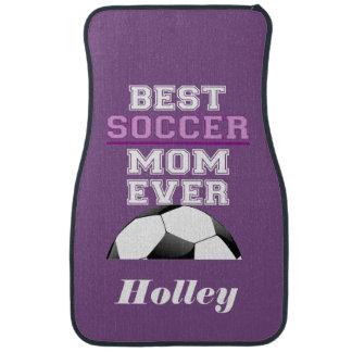 Meilleur ballon de football personnalisé de maman tapis de voiture