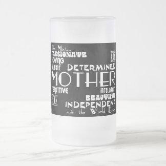 Meilleur et mères et mamans de Greastest : Mug En Verre Givré