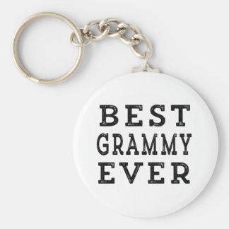 Meilleur Grammy jamais Porte-clé Rond