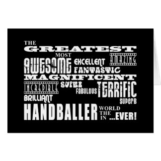 Meilleur Handballers : Plus grand Handballer Carte De Vœux