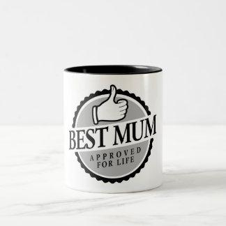 Meilleur mum vintage tasse à café