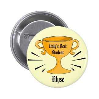 Meilleur Pin personnalisable de récompense d'étudi Pin's