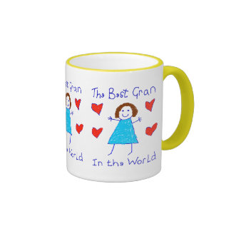 Meilleure mamie au monde mug ringer