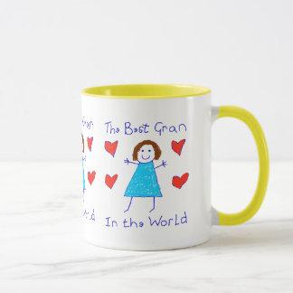 Meilleure mamie au monde tasses