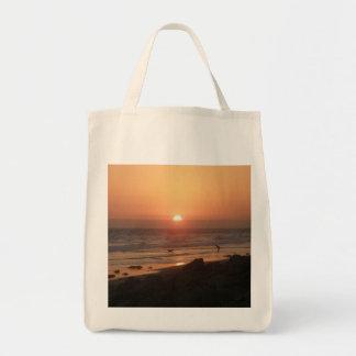 Meilleurs amis à la plage sacs de toile