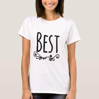 Meilleurs amis assortissant la partie (meilleur) t-shirt