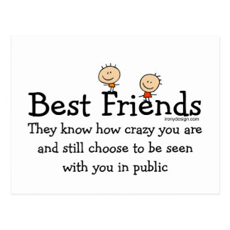 Meilleurs amis cartes postales