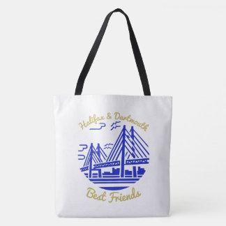 Meilleurs amis de Halifax et de Dartmouth bleus Tote Bag