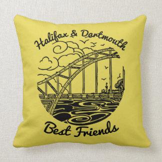 Meilleurs amis de la Nouvelle-Écosse Halifax Coussin