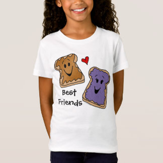 Meilleurs amis, T-shirt de bande dessinée de gelée