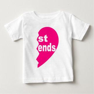 Meilleurs amis tee - shirt, extrémités de St T-shirt Pour Bébé