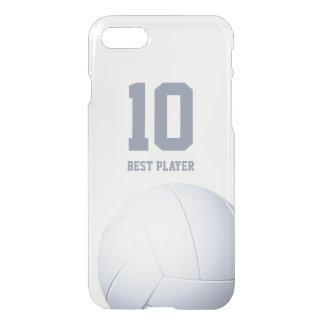 Meilleurs cadeaux personnalisés de sport du joueur coque iPhone 8/7