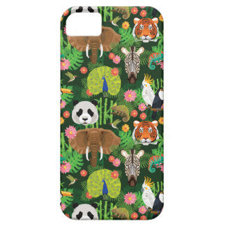 Mélange animal tropical coque barely there iPhone 5