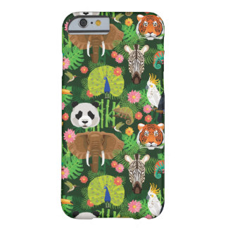 Mélange animal tropical coque iPhone 6 barely there