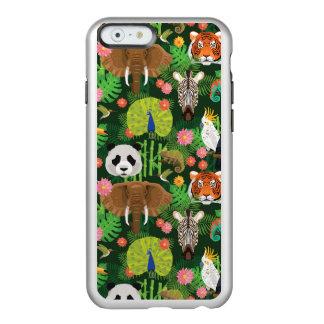 Mélange animal tropical coque iPhone 6 incipio feather® shine