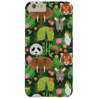 Mélange animal tropical coque iPhone 6 plus barely there