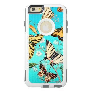 Mélange bleu de papillon coque OtterBox iPhone 6 et 6s plus