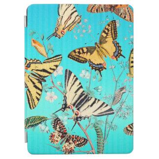 Mélange bleu de papillon protection iPad air