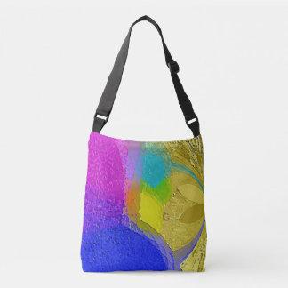 """""""Mélange coloré de texture"""" sur un sac fourre-tout"""