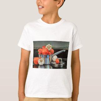 Mélange d'ail de poivre de tomate t-shirt