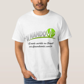 Mélange de Camiseta (T-shirt) DJ Nando T-shirts