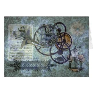 Mélange de Steampunk de cor de harmonie Cartes