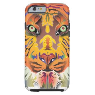Mélange de tigre coque tough iPhone 6