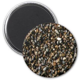 mélange des pierres aimant