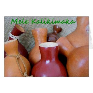 Mele Kalikimaka Carte De Vœux