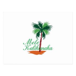 Mele Kalikimaka Cartes Postales