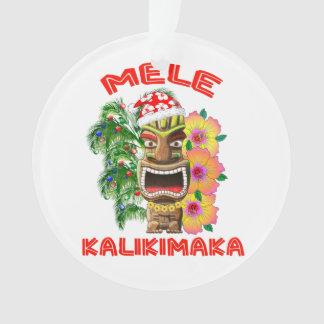 Mele Kalikimaka le père noël Tiki