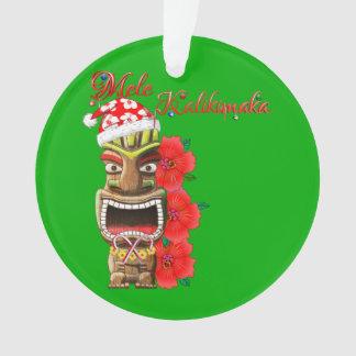 Mele Kalikimaka Père Noël Tiki