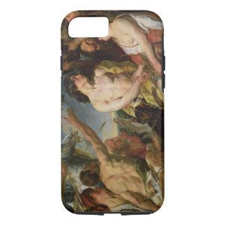 Meleager et Atalanta (huile sur la toile) Coque iPhone 7