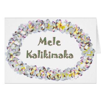 MeleKalikimaka Carte De Vœux