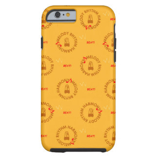 MELODY RHYTHM HARMONY (黄色バージョン) COQUE iPhone 6 TOUGH