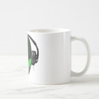 Mélomane étranger du DJ - vert de reptile Mug