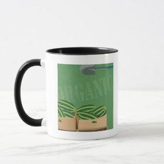Melons organiques frais mug
