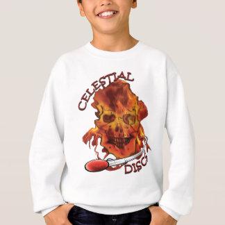 MeltingInfernoCelestialDiscsRed Sweatshirt