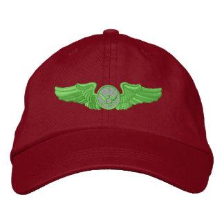 Membre enrôlé d'équipage aérien casquette brodée