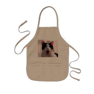 Meme de chat - chat drôle - memes drôles de chat - tablier enfant
